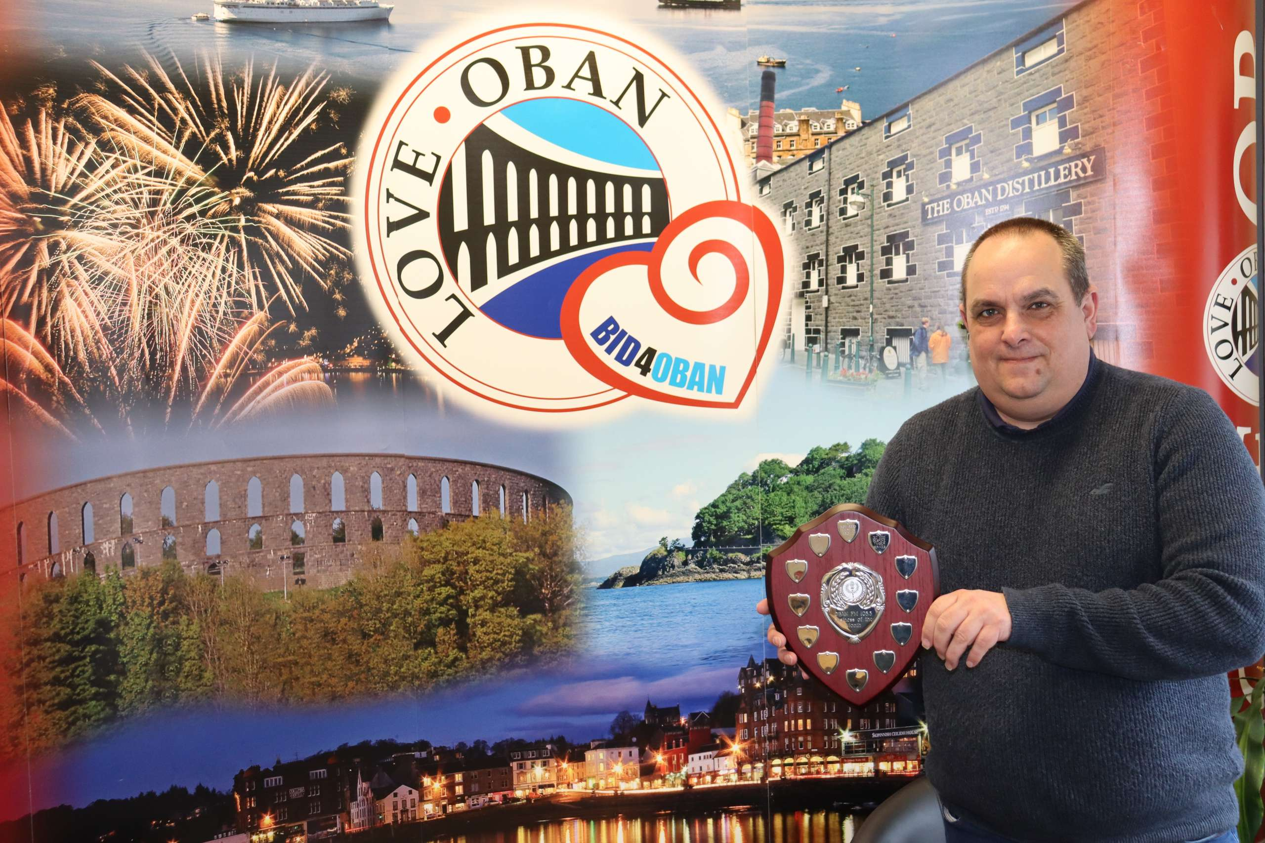 BID4Oban chosen as Oban FM's business of the month